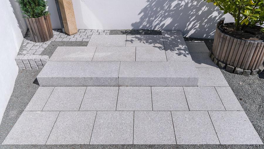 granitplatten garten, garten und naturstein – naturstein für ihren garten in hamburg, kiel, Design ideen